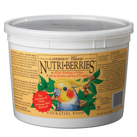 Lafeber Nutri-Berries Classic Cockatiel at Countrysidepet.com