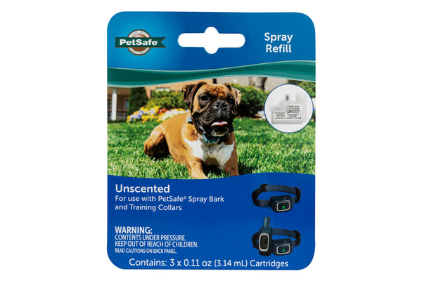 PetSafe Spray Refill Cartridges for PetSafe Spray Bark & Training Collars - Pack of 3