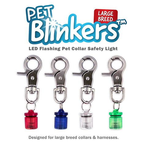 Flipo Pet Blinkers Flashing LED Safety Lights for Large Breeds- CountrysidePet.com
