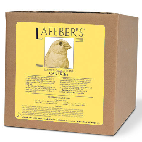 Lafeber Canary Pellets (25 lb Box) -- FREE SHIPPING - Countryside Pet Supply - 1