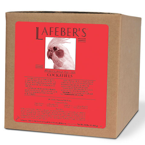 Lafeber Cockatiel Pellets  (25 lb Box)  --  FREE SHIPPING - Countryside Pet Supply - 1
