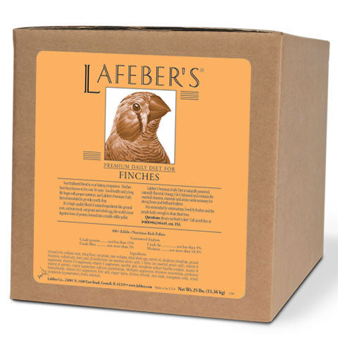 Lafeber Finch Granules  (25 lb Box) -- FREE SHIPPING - Countryside Pet Supply
