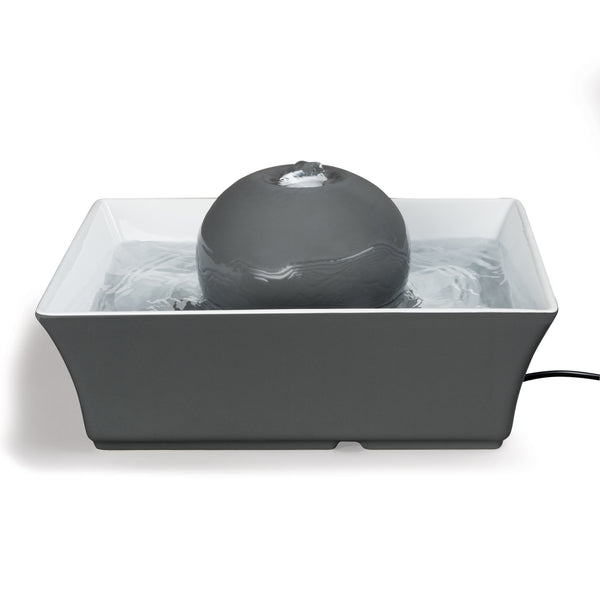 Drinkwell Seascape Pet Fountain - Grey