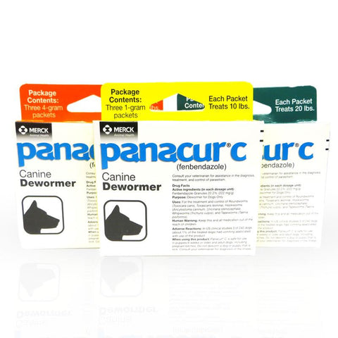 Panacur C (3 Packets)