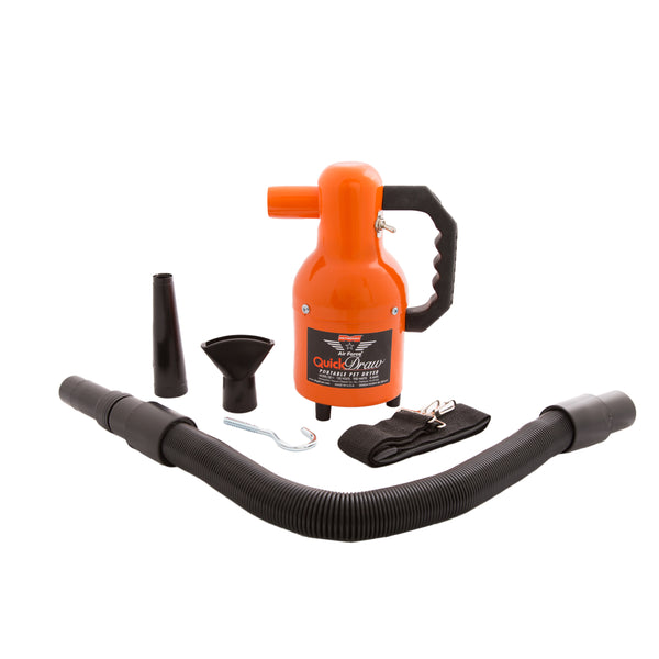 Air Force Quick Draw Compact Portable Pet Dryer