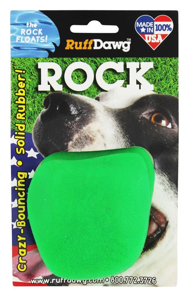 RuffDawg Rock Floating Dog Toy at Countrysidepet.com