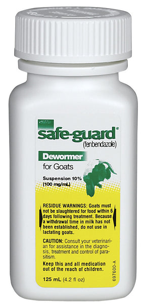 Safe-Guard Liquid Wormer 125 ml