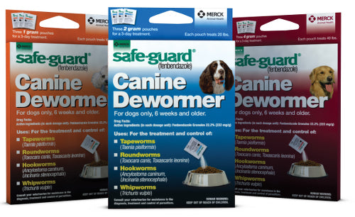 Safe-Guard Canine Dewormer Family - CountrysidePet.com