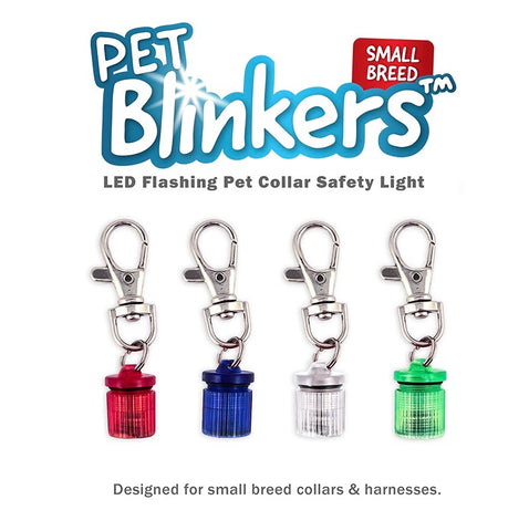 Flipo Pet Blinkers Flashing LED Safety Lights for Small Breeds- CountrysidePet.com