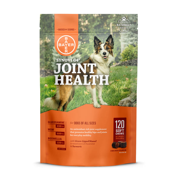 Bayer Synovi G4 Joint Health Soft Chews - 120ct at Countrysidepet.com