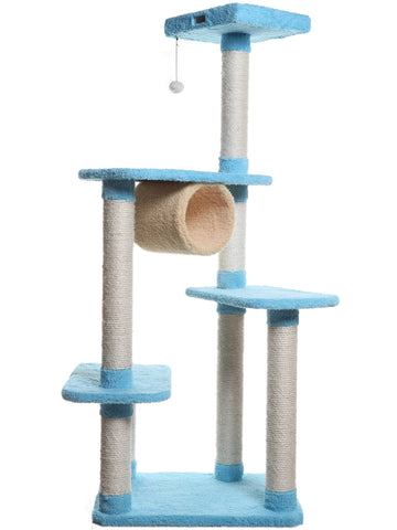 Premium Multi-Level Cat Tree with Tunnel - CountrysidePet.com
