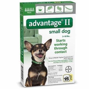 Advantage 2 topical flea control for dogs 3 - 10lbs