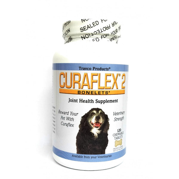 CuraFlex 2 Joint Health Supplement for Dogs - 120 Chewable Tablets