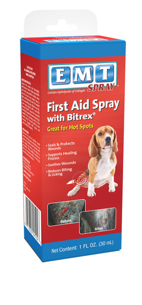 EMT Spray with Bitrex for Small and Large Animals (1oz)