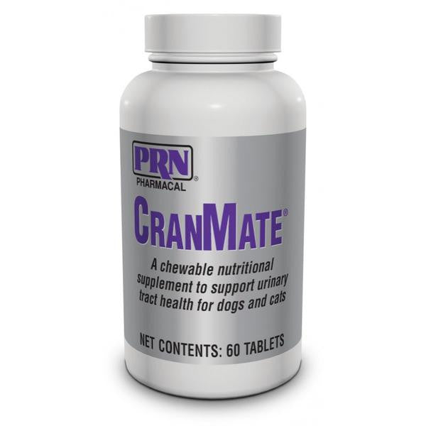 CranMate Cranberry Extract Urinary Tract Supplement for Pets - 60 Chewable Tablets