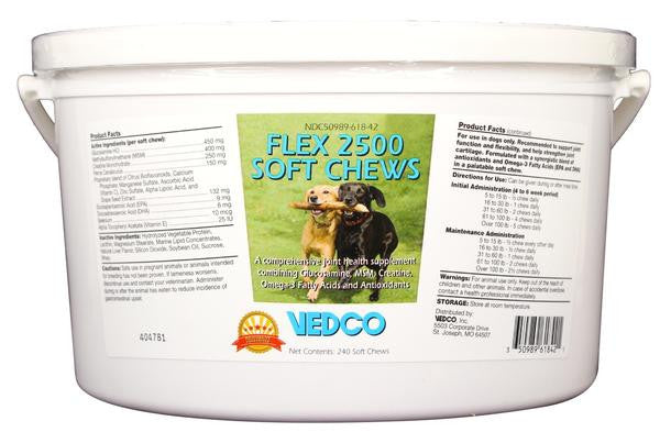 Flex 2500 Joint Support for Dogs - 240 Soft Chews
