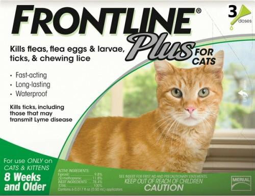 Frontline Plus Cat (3 Pack)