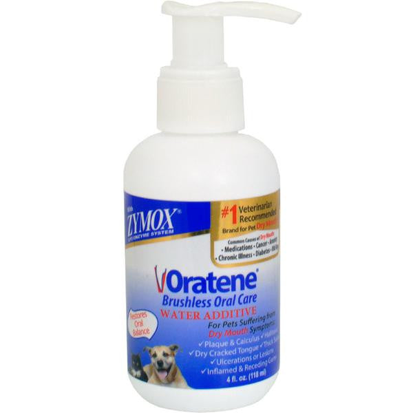 Zymox Oratene Drinking Water Additive - 4 Ounce