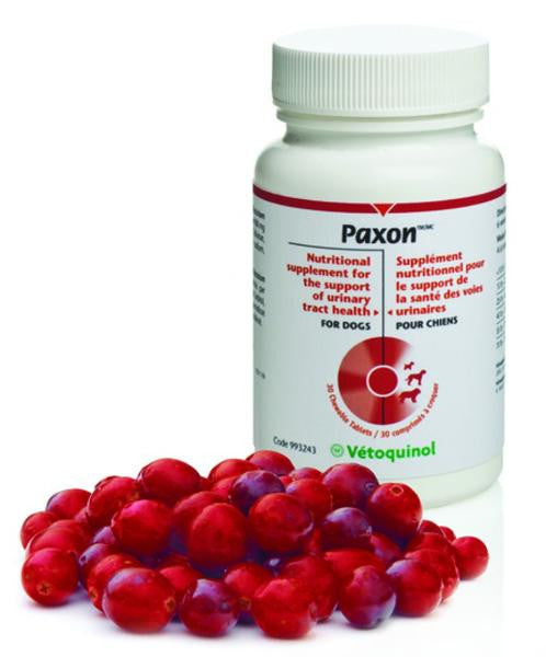 Paxon Cranberry Extract for Dogs - 30 Count
