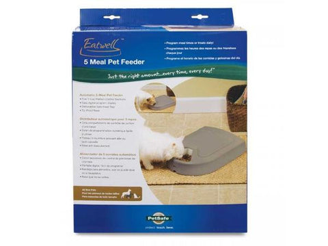 PetSafe 5-Meal Automatic Pet Feeder in Box