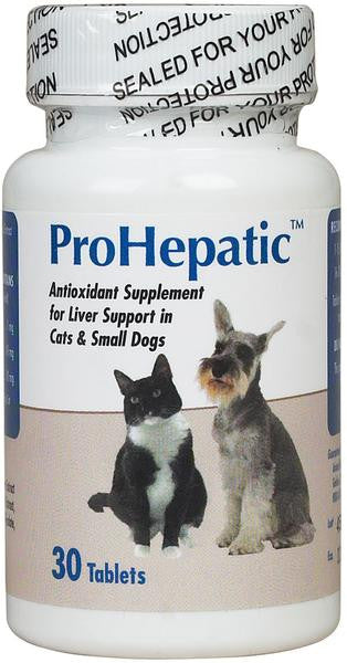 ProHepatic Liver Supplement for Cats and Small Dogs - 30 Tablets