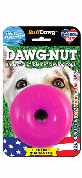 RuffDawg Dawg Nut Indestructible Toy (Assorted Colors)