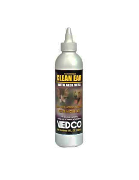 Vedco Clean Ear with Aloe Vera - 8 Ounce
