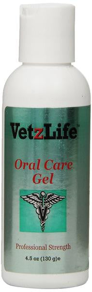 VetzLife Oral Care Gel for Pets 4.5 oz. Peppermint