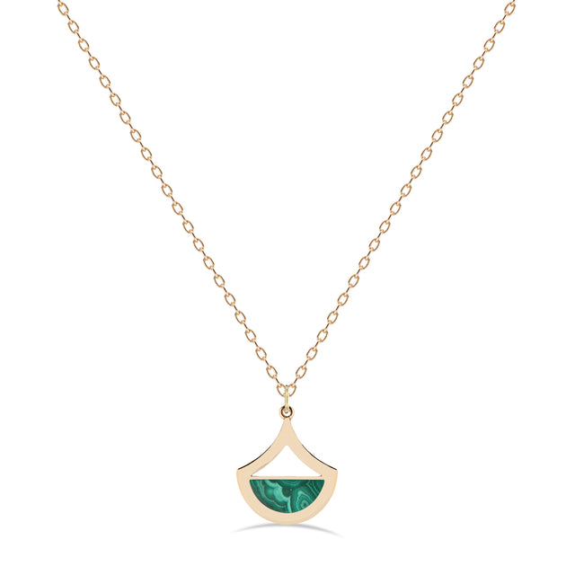 Malachite Necklace by KarenAsh New York