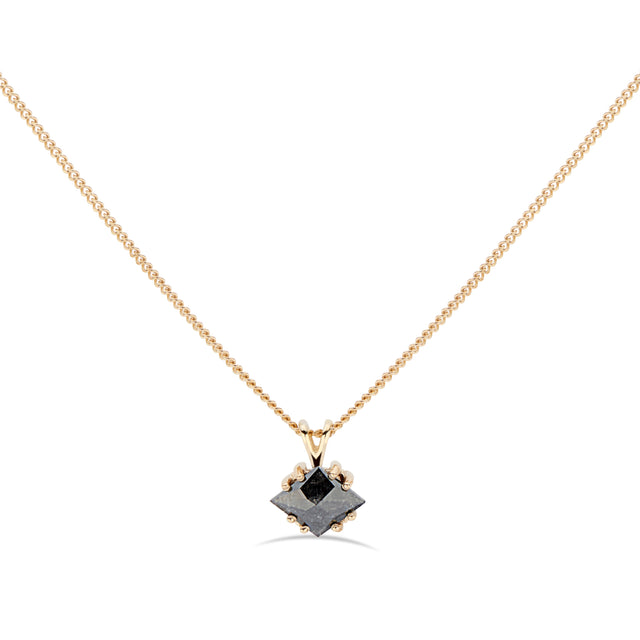 Black kite diamond 14K gold by KarenAsh New York