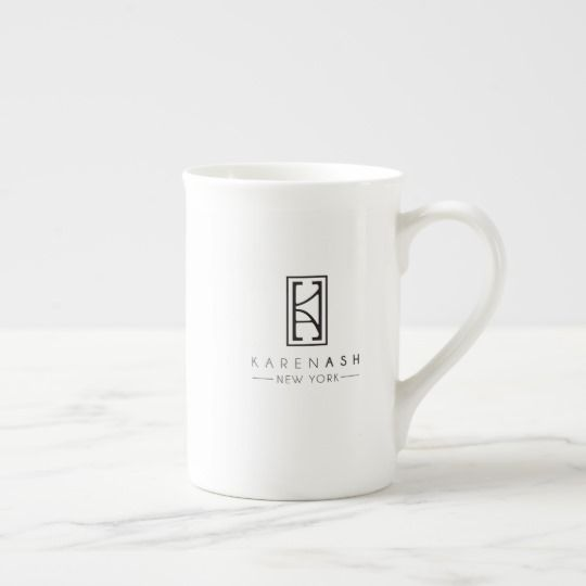 Brunch, Bling, Bubbly Porcelain Mug by KarenAsh New York