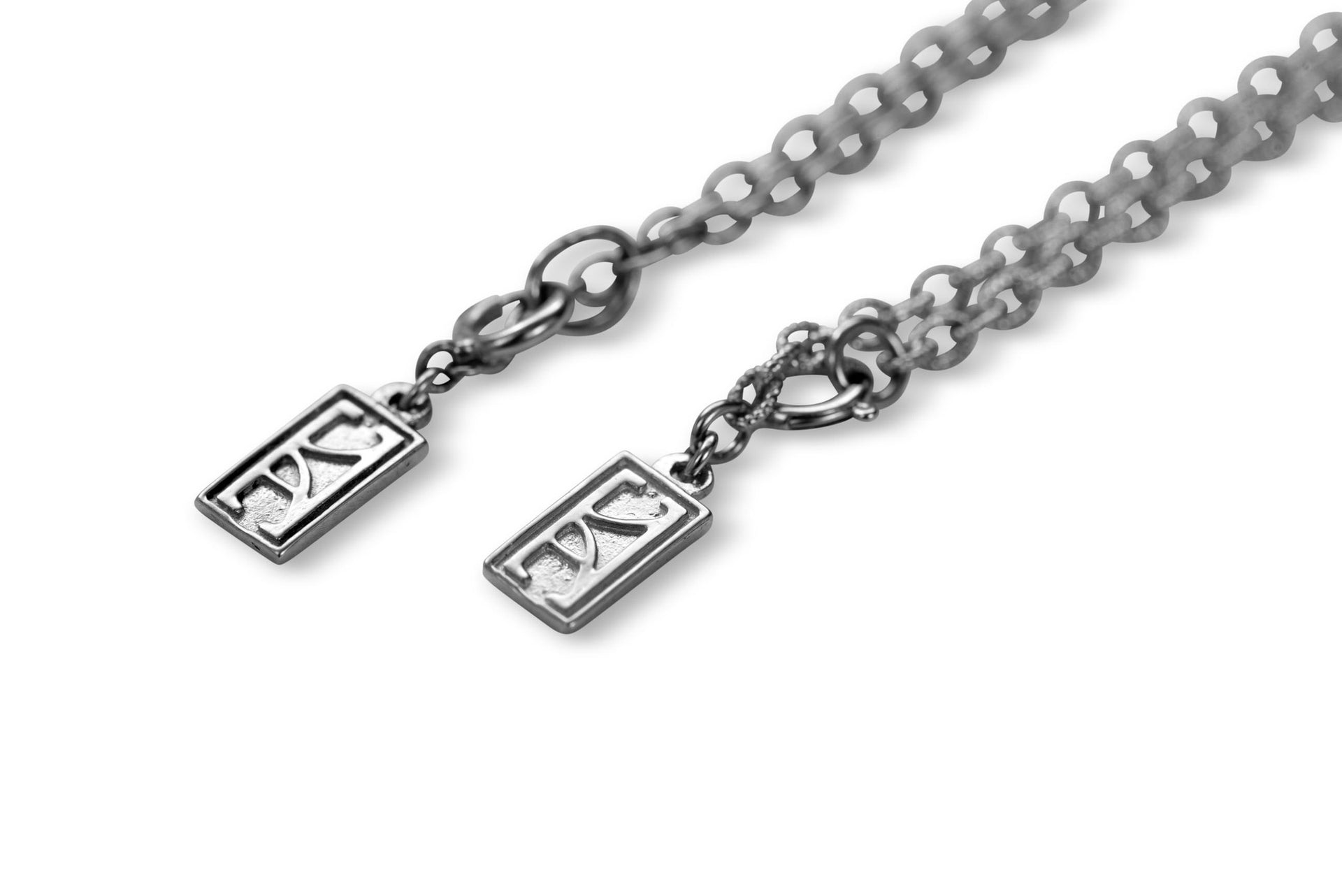 14 KT White Gold necklace by KarenAsh New York