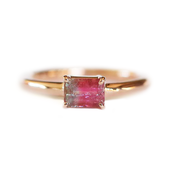 One-of-a-kind bicolor tourmaline