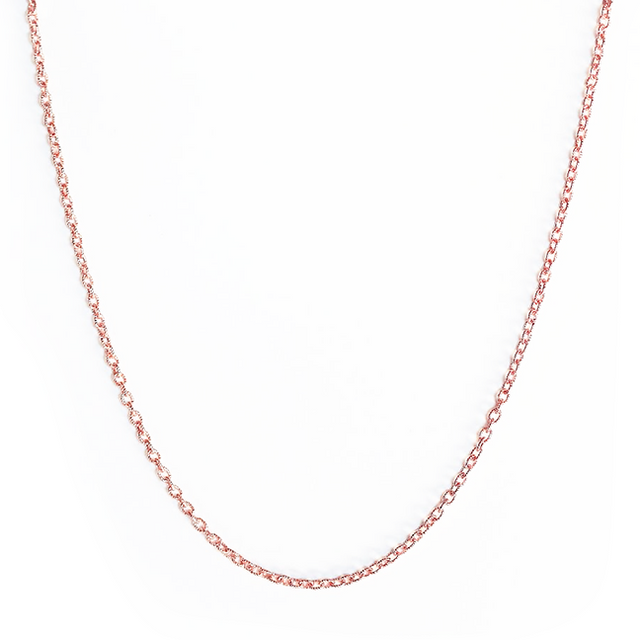 14 KT Rose Gold Choker by KarenAsh New York