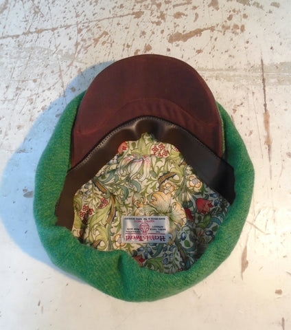 Bespoke  Harris Tweed  Caps And Handmade Hats By AmiCharnel. bf90e0736a9