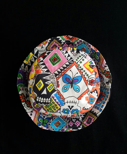 Day Of The Dead, Festival, Summer, Beach Bucket Hat.