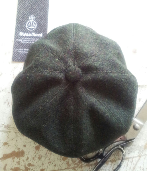 Harris Tweed Baker Boy, Newsboy Cap, Bespoke Hat