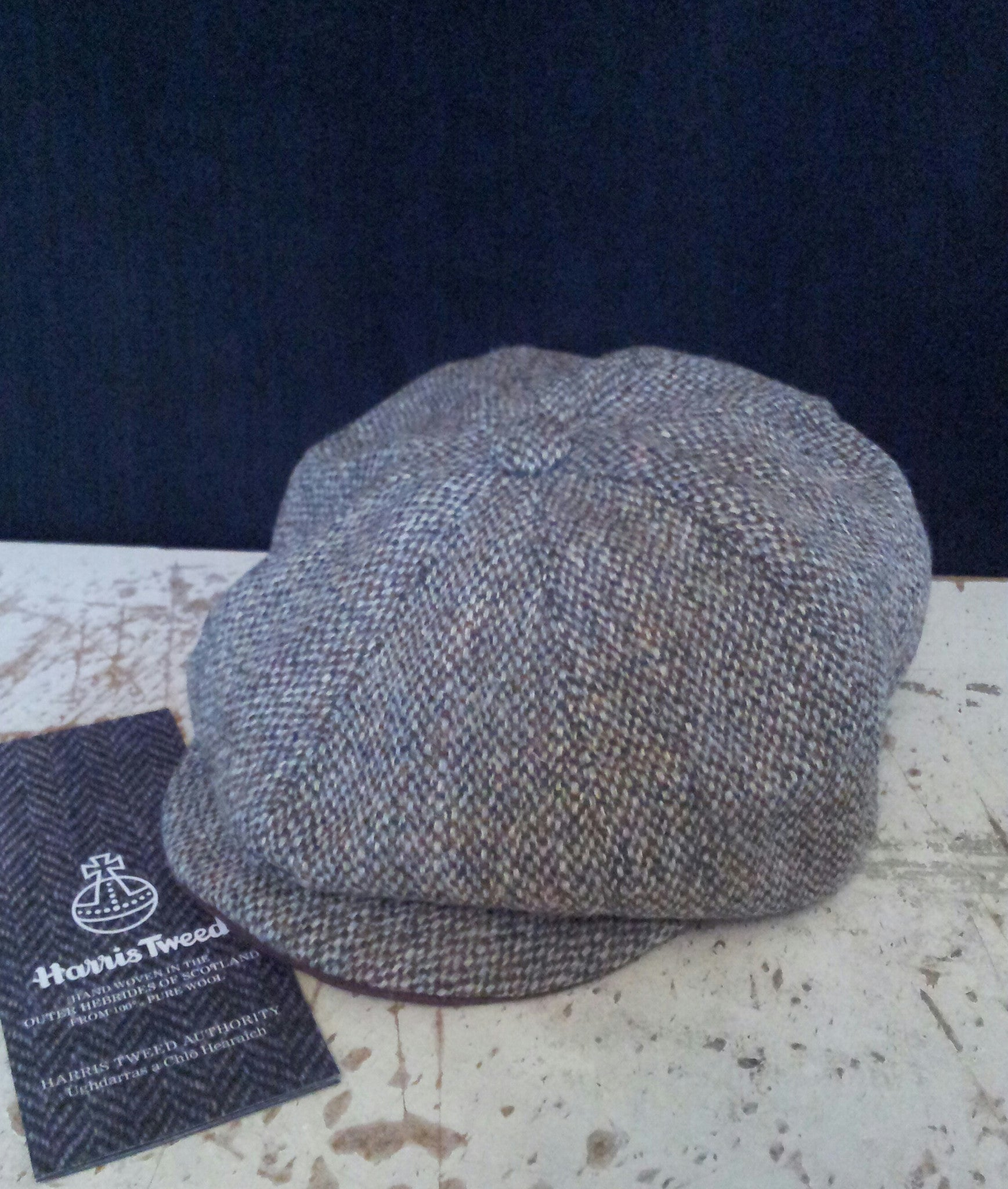 Unique  Harris Tweed  Baker Boy 679c57561de2