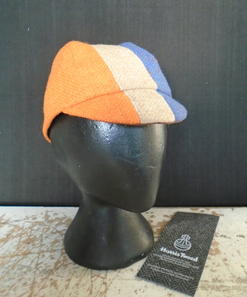 Harris Tweed cycling cap, Holland, Dutch.