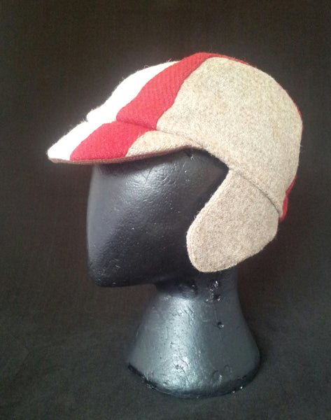 Harris Tweed cycling cap