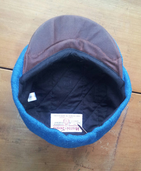 Childs Harris Tweed Bakerboy Cap, Newsboy Hat.