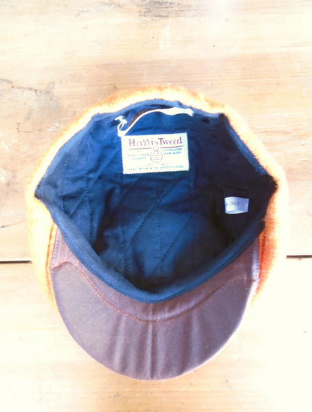 Bespoke Harris Tweed child's baker boy cap newsboy hat