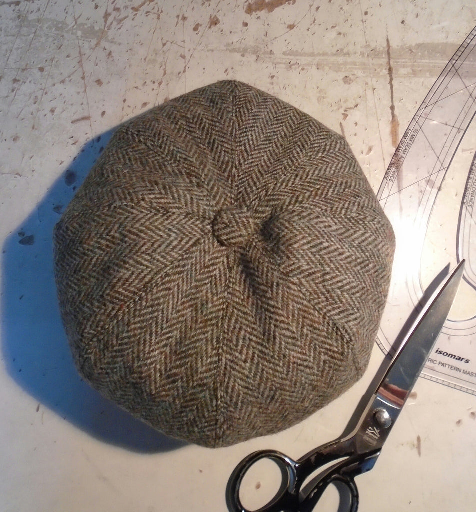 e25cb184 Classic Bespoke Harris Tweed Baker Boy Newsboy Cap | Amicharnel.
