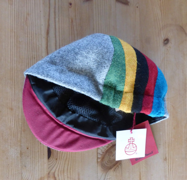 Harris Tweed Cycling Cap, Bespoke, All Sizes Catered For (racer style)