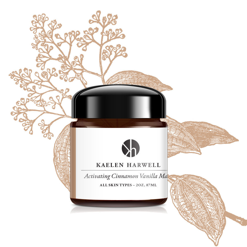 Activating Cinnamon Vanilla Mask