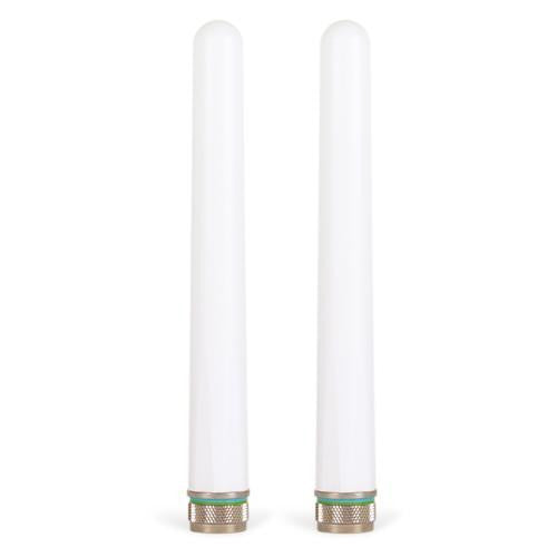 Meraki 5 - 7 dBi Omni Antenna, Dual Band, N-Type, Set of 2<br /><br /><small>(Part #: ANT-10)</small>