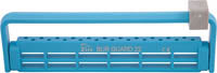 Steri-Bur Guard 22 Hole Neon Blue Ea Zirc Dental Products (50Z410N)
