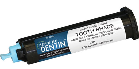 Core Build-up Material Absolute Dentin - Artic White (50ml. cartridge) S300 - Parkell       GIFT CARDS     -  $10
