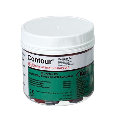 Contour Alloy   Kerr..2 Spill Fast 50 Capsules GIFT CARDS   $5 10