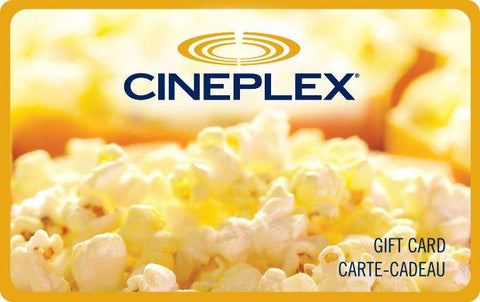 Cineplex Gift Card Gift Cards